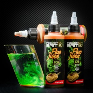 Fluo Juice FeederBait - Truskawka 100 ml
